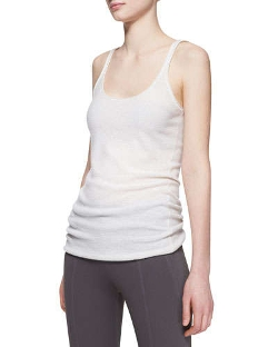 Donna Karan - Ribbed Cashmere-Blend Tank Top