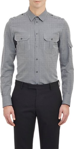 Dolce & Gabbana - Gold Fit Gingham Shirt
