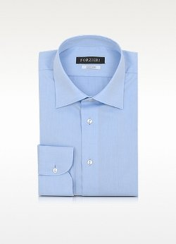 Forzieri - Non Iron Cotton Dress Shirt