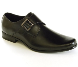 Alpine Swiss - Uster Monk Strap Loafers