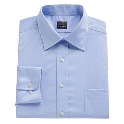 Chaps  -  Classic-Fit Solid No-Iron Dress Shirt