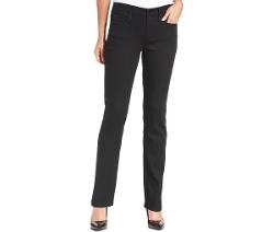 Calvin Klein - Curvy-Fit Straight-Leg Jeans