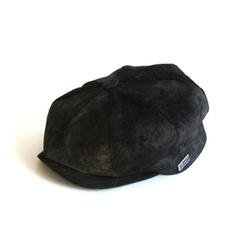 Dasmarca Hats - Curt Black Suede Cap
