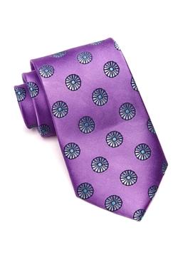 Ike Behar  - Pinwheel Neat Silk Neck Tie