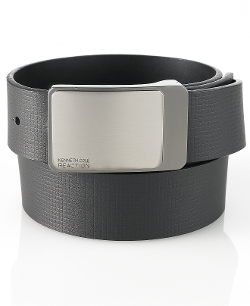Kenneth Cole Reaction - Embossed Strap Reversible Belt