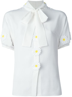 Dolce & Gabbana - Daisy Appliqué Shirt