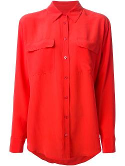 EQUIPMENT - button down shirt