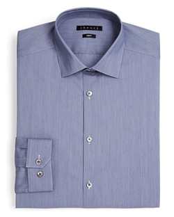 Theory - Boxmoor Solid Non Solid Dress Shirt