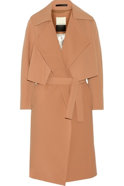 Malene Birger - Pasinios Convertible Crepe Trench Coat