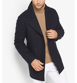 Michael Kors - Wool-Blend Peacoat