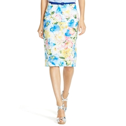 Ralph Lauren - Floral-Print Pencil Skirt