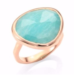 Monica Vinader  - Amazonite Siren Ring