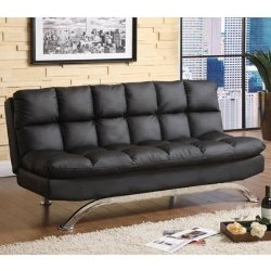 247Shopathome - Mussina Futon Sofa Bed