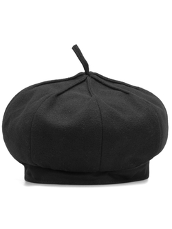 Romwe - Casual Beret Hat