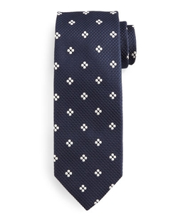 Tom Ford - Floral-Grid Tie