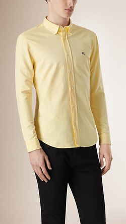 Burberry - Slim Fit Cotton Oxford Shirt