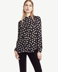 Ann Taylor - Ginkgo Button Down Blouse
