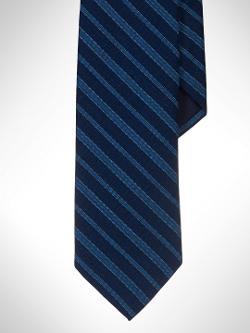 Polo Ralph Lauren - Narrow Indigo-Dyed Striped Tie