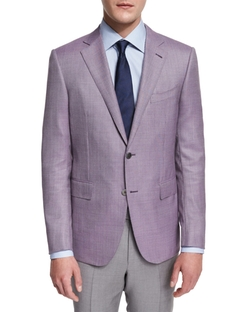 Ermenegildo Zegna - Micro-Check Two-Button Jacket