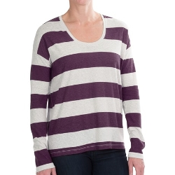 Sierra Trading Post - Long Sleeve Slub Stripe T-Shirt