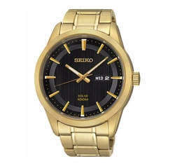 Seiko - Solar Stainless Steel Bracelet Watch