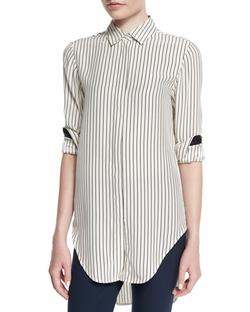 Rag & Bone  - Nightingale Striped Long Shirt