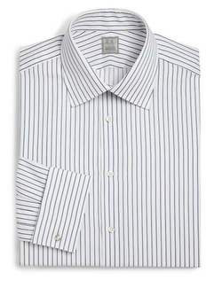 Ike Behar  - Crosby Striped Dress Shirt