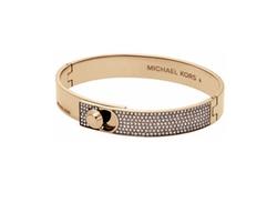 Michael Kors - Heritage Pavé Crystal Bangle Bracelet