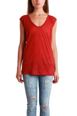 Giada Forte - Cap Sleeve Tee Shirt