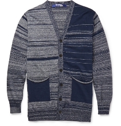 Junya Watanabe - Cotton and Linen-Blend Cardigan