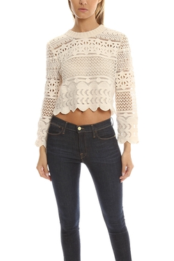 Sea - Multi Lace Pullover Top