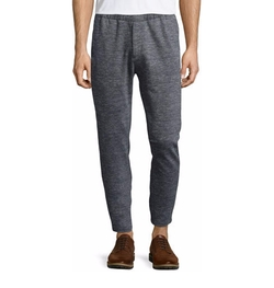 Theory - Pier Heathered-Knit Sweatpants