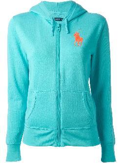 RALPH LAUREN BLUE LABEL  - hooded jacket
