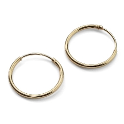 Silverline Jewelry - Endless Hoop Earrings