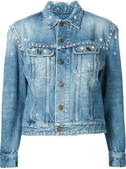 Saint Laurent - Studded Denim Jacket