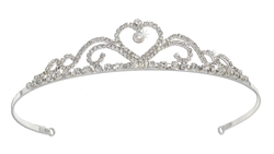Melissa Kay Collection - Rhinestone Sweetheart Tiara