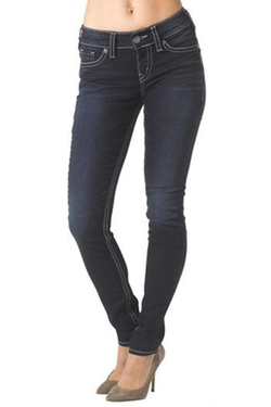 Silver Jeans - Suki Mid Skinny Jeans