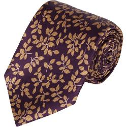 Barneys New York - Vine Silk Neck Tie