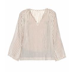 Masscob - Galiota Striped Cotton Blouse