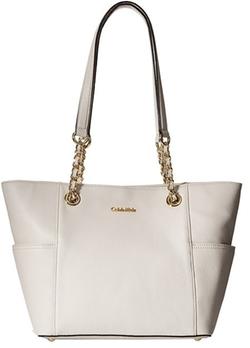 Calvin Klein - Key Item Leather Tote Bag