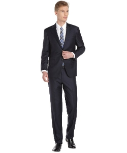 Freeman - Two-Button Wool Suit