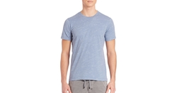 Splendid Mills - Cotton Blend Crewneck T-Shirt