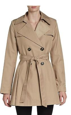 Via Spiga - Belted Short Trench Coat