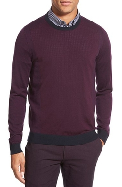 Ted Baker London - Lewcat CrewneckMerino Wool Sweater
