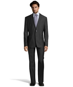 Versace  - Solid Two-Piece Wool and Linen Suit