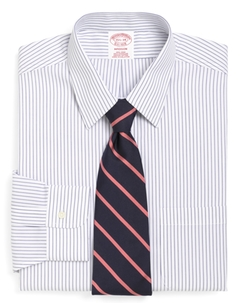 Brooks Brothers - Non-Iron Madison Fit Pencil Stripe Dress Shirt