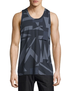 Helmut Lang - Misdirection-Print Tank Top