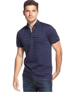 Tommy Hilfiger  - Morningside Striped Custom-Fit Polo Shirt