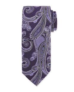 Ike Behar  - Woven Paisley Tie