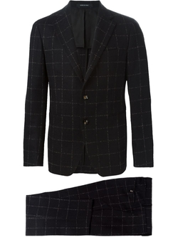 Tagliatore   - Checked Two Piece Suit